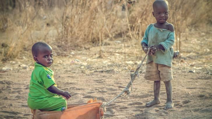 nigerian children playing