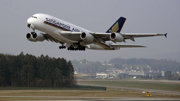 singapore airlines flying