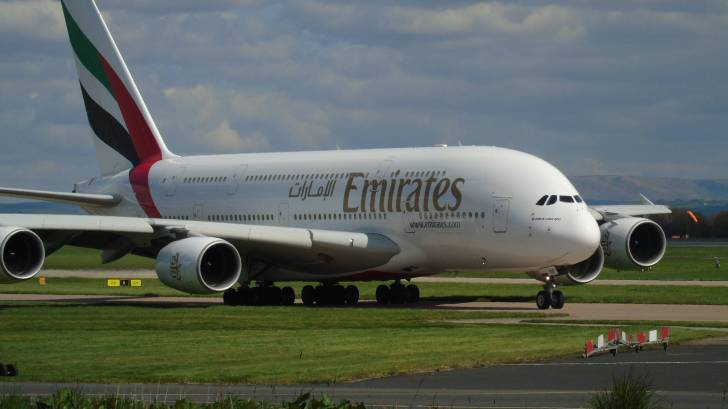 emirates airliner