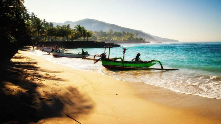 beach in asia