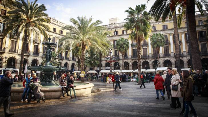 barcelona spain square