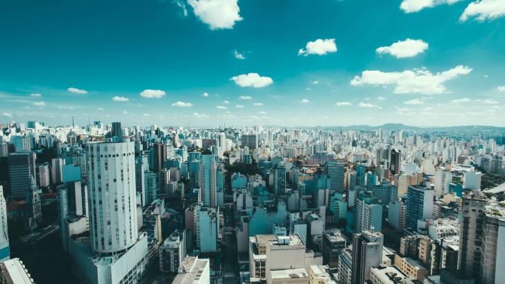 Brazil metropolitan city scene