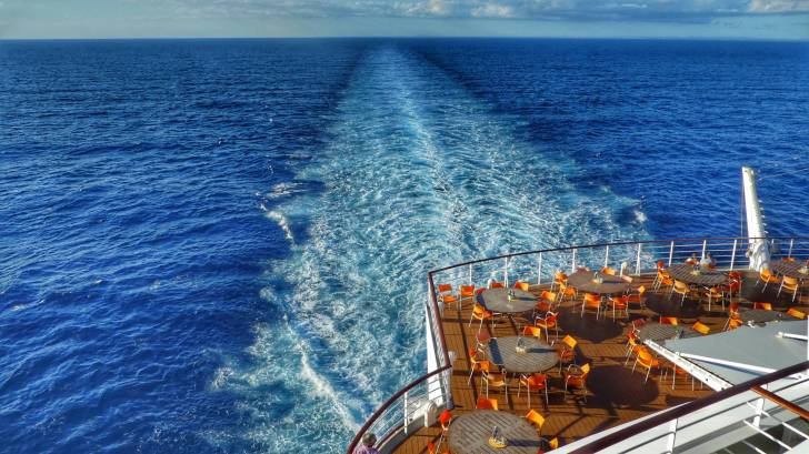 caribbean sea, cruise ship