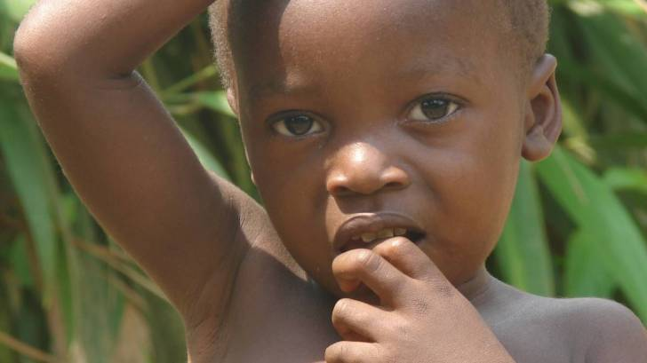 young child in africa