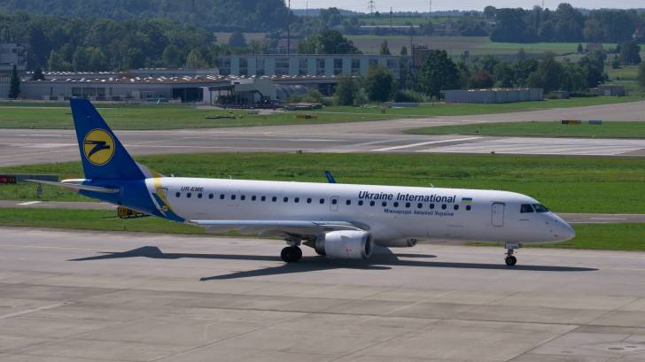 Ukrainian Airlines jet