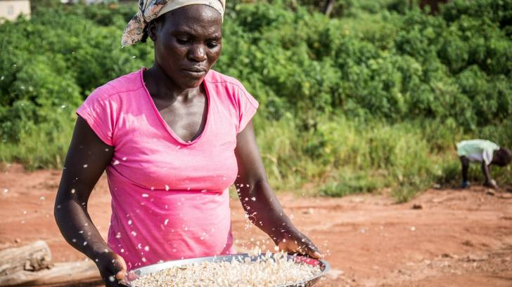 african woman farmer