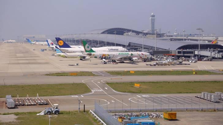 japan airport in osaka