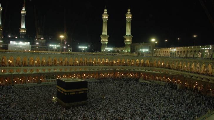 the hajj, mecca