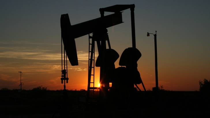 oil rig in texas