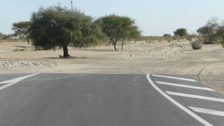 road to no where in chad africa