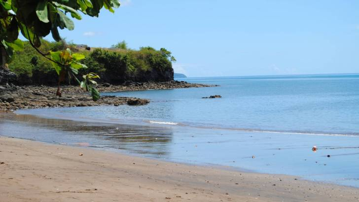 trevani beach in Mayotte