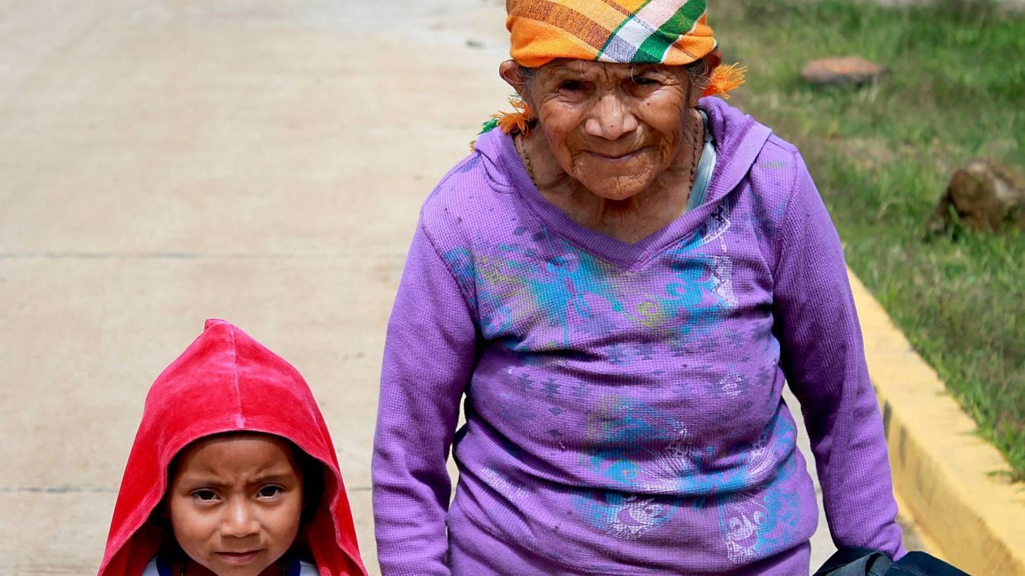 honduran grnadmaother and child