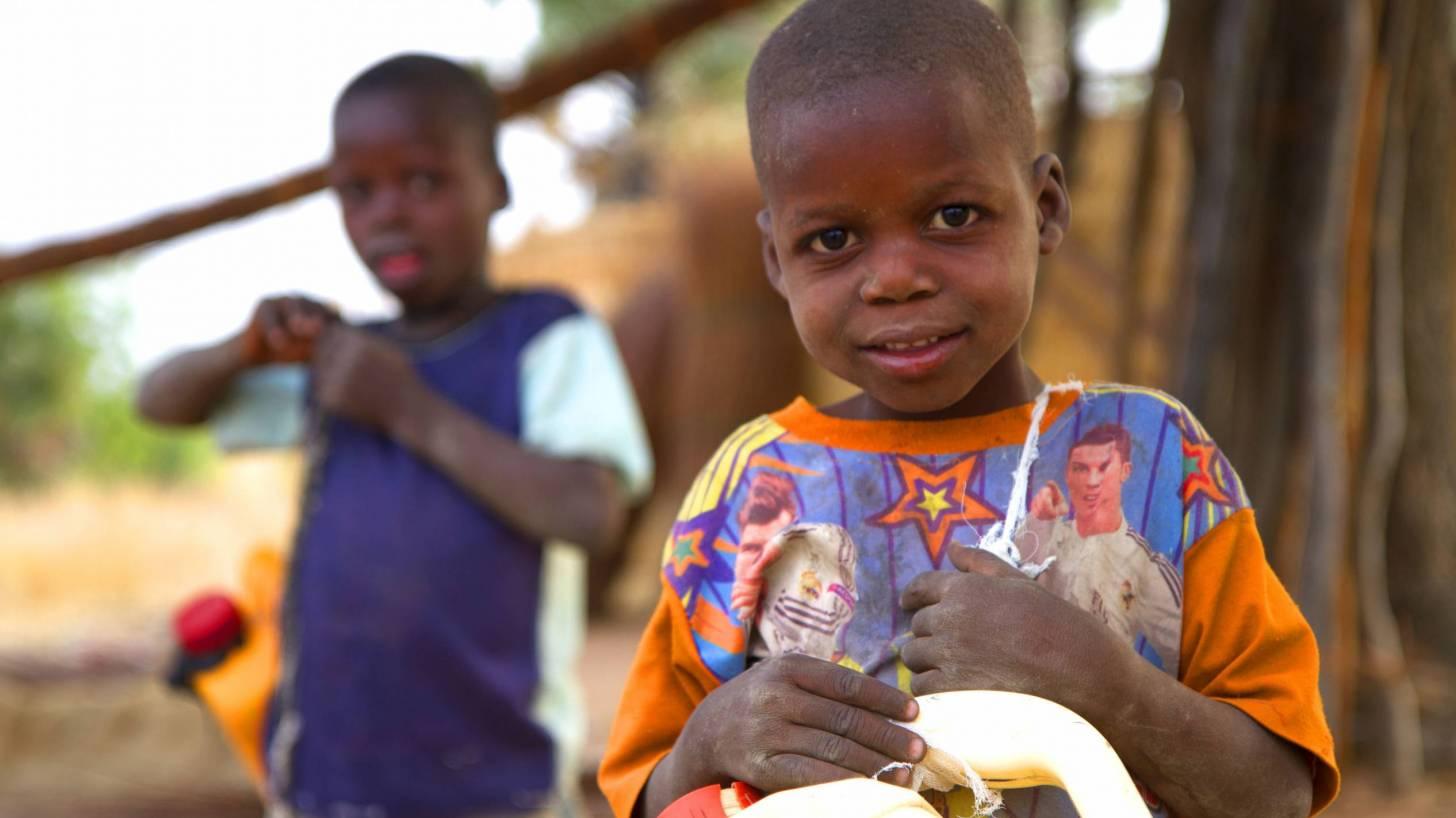 young nigerian children