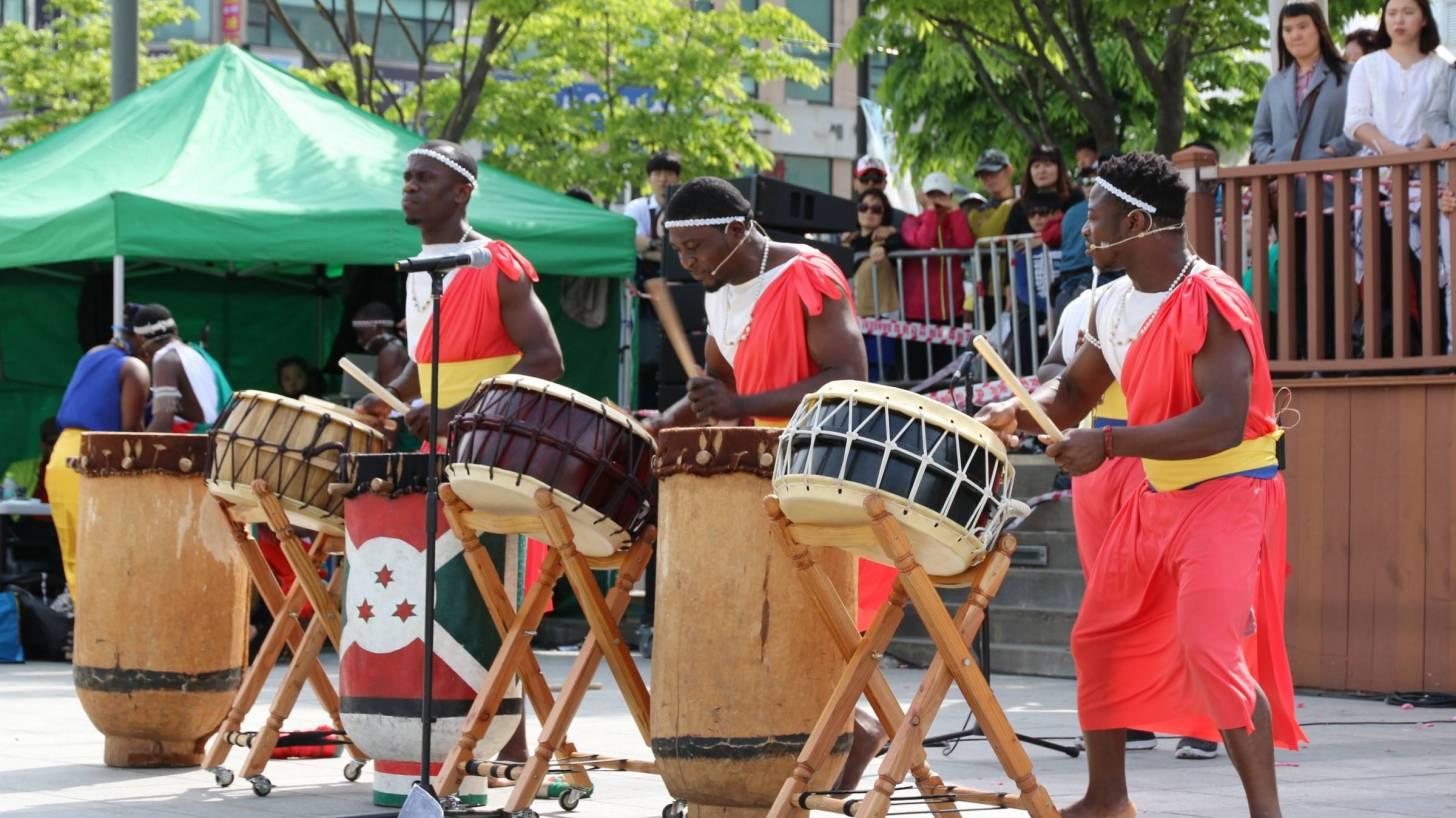 ethiopian street band