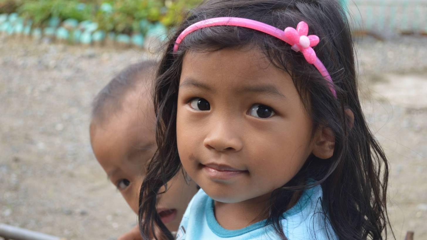 filipino little girl