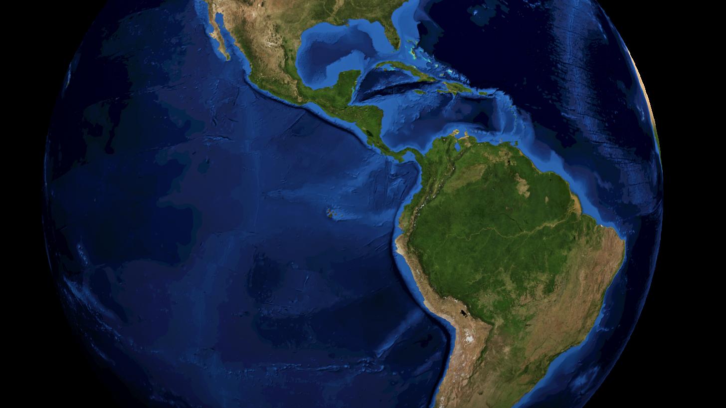 globe of the americas