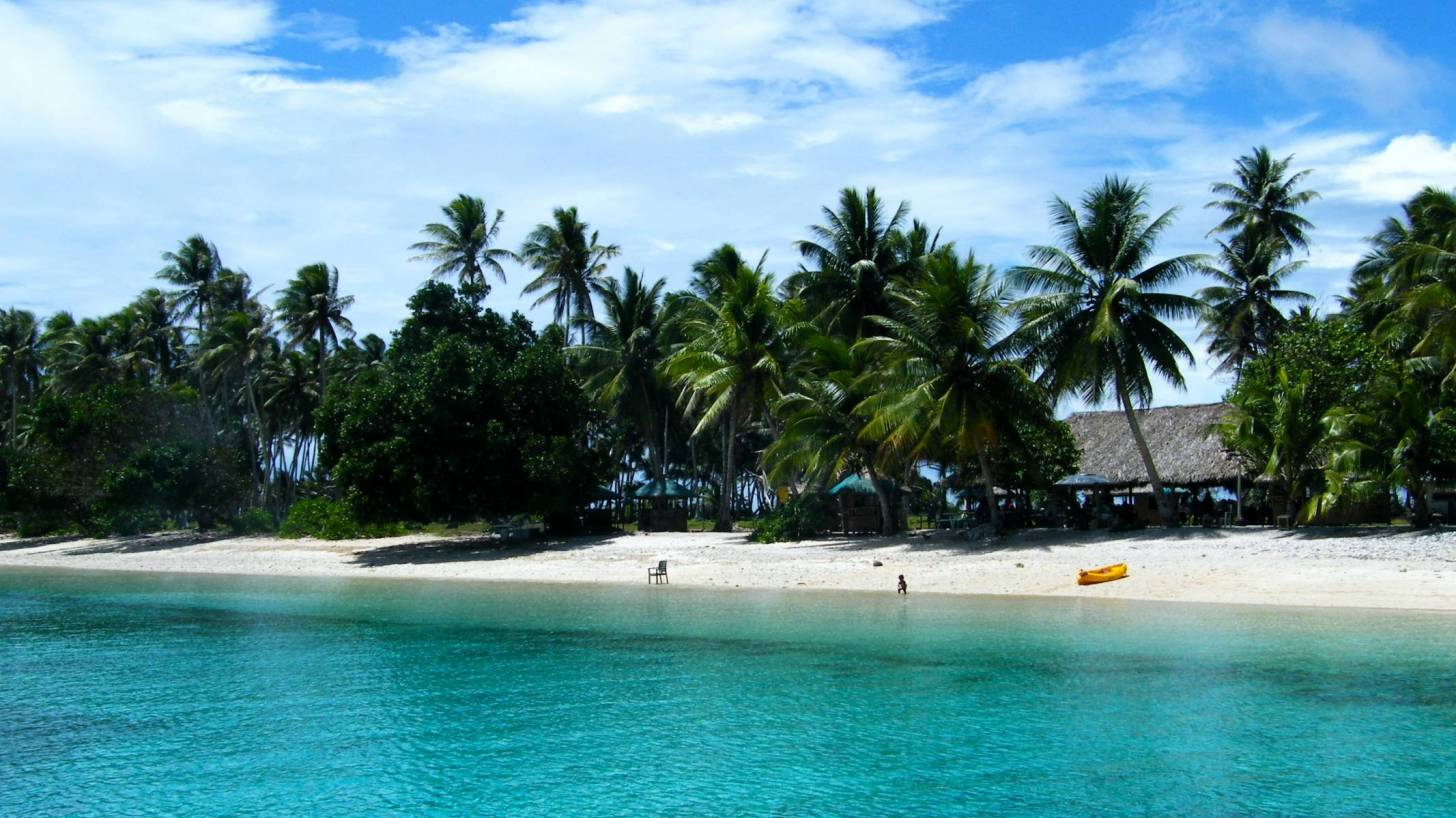 beach on marshall islands