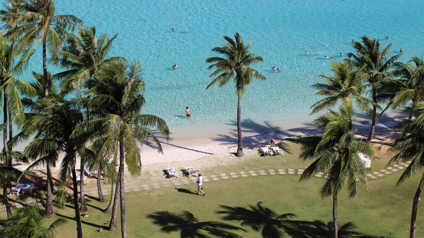 guam beach and see photo