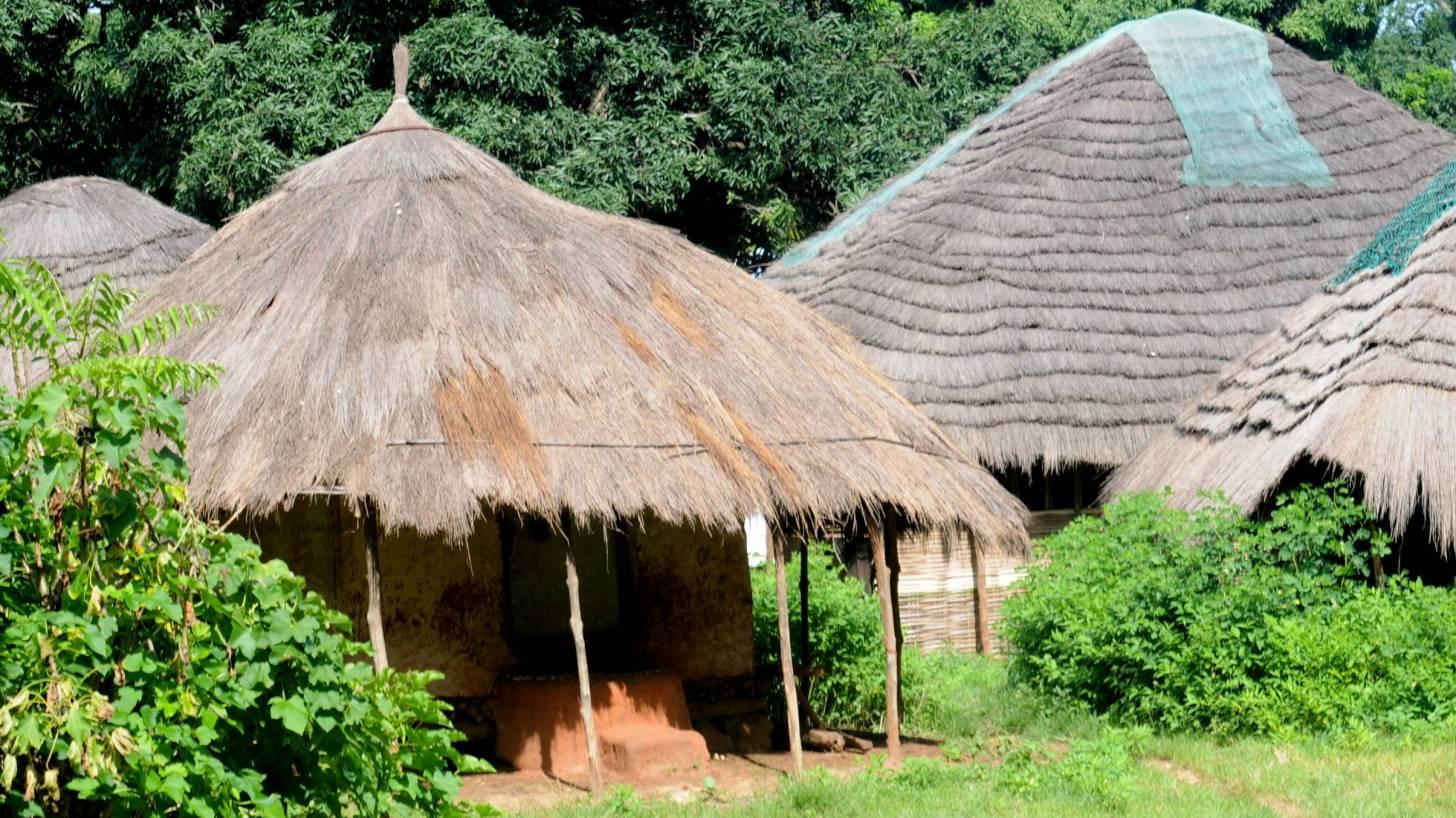 village in guinea africa