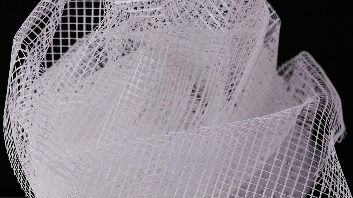 white netting