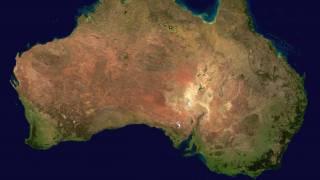 continent of Australia