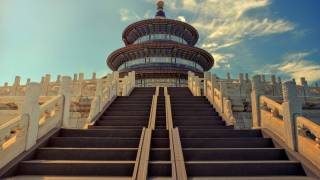 beijing temple of heaven stairs