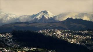 border towns at the foot of the andes mountains