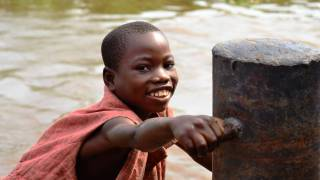 young boy in africa