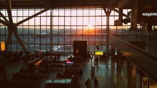 heathrow airport at sunrise