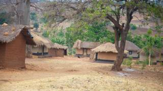 malawi african village