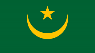 flag of the country mauritania