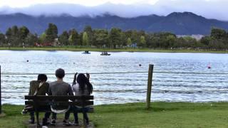 parl lake in Bolivar