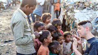 poor children in dev country