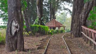 costa rican train to small village