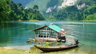 thailand hut and water