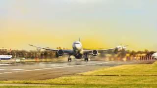 airline landing