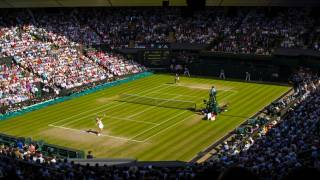 Wimbledon tennis facility in London