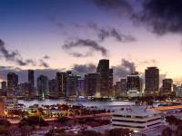 miami at sunset